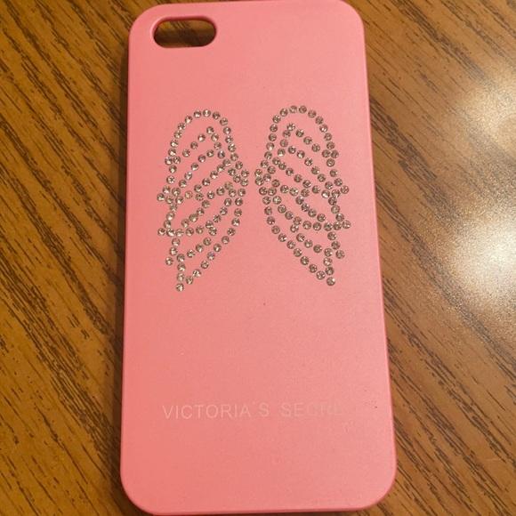 Victoria's Secret bedazzled wings iPhone 5 case